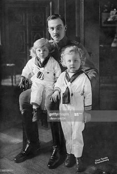 Wilhelm Ii, Kaiser Wilhelm, Adele, Brunswick Germany, German Royal Family, Ernst August, Christian Ix, Herzog, Princess Caroline