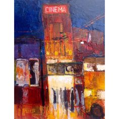Cinema signed limited edition print by Anthony Marshall