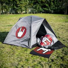 Camping-Set von Rock Skulls by EMP