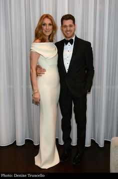 Celine with Michael Buble