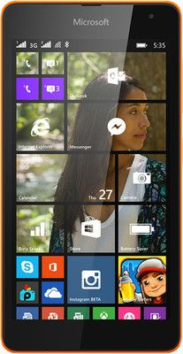 One Stop for Shopping: Microsoft Lumia 535 DS RM -1090 (Bright Orange, 8 ...