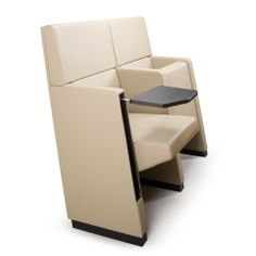 for conference halls, auditoriums, cinemas, theatres and teaching classrooms. by R&D Lamm Auditorium Seating, Theatres, Conference, Armchair, Cinema, Relax, Teaching, Furniture, Design