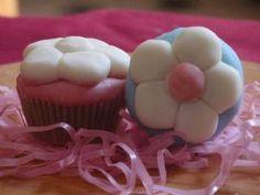 Flour cupcake