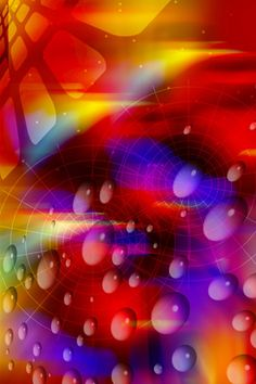 Colourful abstract