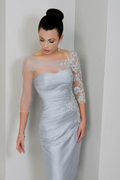 estelles mother of the bride dresses | IR1275-Platinum