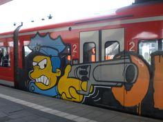 Explore thesilverboy's photos on Photobucket. Graffiti Drawing, Graffiti Murals, Mural Art, Art Drawings, Street Mural, Street Art Graffiti, Funny Cartoon Faces, Train Art, Paper Train