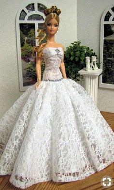 bride doll, bride Barbie