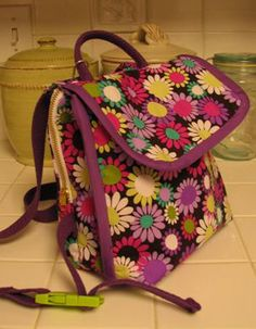 The London Backpack | pdf sewing pattern by lbgstudio for willow ...