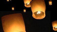 How to make floating lanterns.