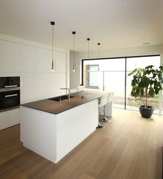 58 amazing kіtсhеn idеаѕ wіth the mоѕt affordable cоѕt 40 Interior Design Kitchen, Kitchen Decor, Modern Interior, Küchen Design, House Design, Open Plan Kitchen Living Room, Sweet Home, Home Kitchens, Kitchen Remodel