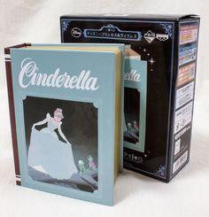 Disney Princess & Villains Cinderella Book Type Clock Banpresto JAPAN ANIME