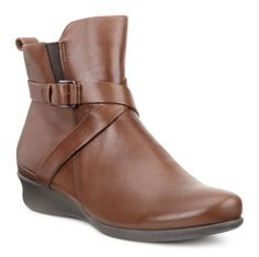 ECCO is a global leader in innovative comfort footwear for men, ladies and kids. Leather Ankle Boots, Casual Chic, Nordstrom, Footwear, Wedges, Lady, Autumn, Winter, Fashion