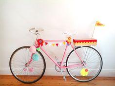 idea para decorar la bici