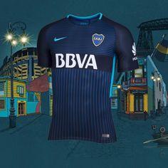 Camiseta alternativa Boca Juniors Stadium 3RD 2017 18. Conseguila en  nuestra Tienda Sport78. Art  847297011  camiseta  bocajuniors  xeneize   stadium  3RD ... 67bcdc68bc7a4