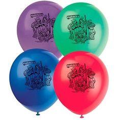 TEENAGE MUTANT NINJA TURTLES ~ (8) Printed Latex Balloons~ Birthday Party Supply #Unique #BirthdayChild