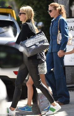 Stepping out: Gwyneth Paltrow was joined by close friend Stella McCartney for a shopping trip in Beverly Hills on Thursday afternoon