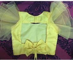 Netted Blouse Designs, Fancy Blouse Designs, Bridal Blouse Designs, Blouse Neck Designs, Sari Design, Designer Kurtis, Blouse Designs Catalogue, Sleeves Designs For Dresses, Stylish Blouse Design