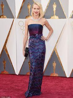 Naomi Watts - Armani Prive - 2016 Oscars