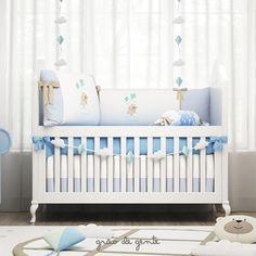 Um novo conceito de quarto de menino chegou! Nino e a Pipa traz ares de brincadeira para o quarto de bebê!