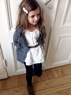 I've always said I'm going to accessorize my baby girls' outfits with lotz of beltz