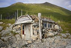 Island cabin on Senja, Norway. Submitted and photographed by Kristian Helgesen