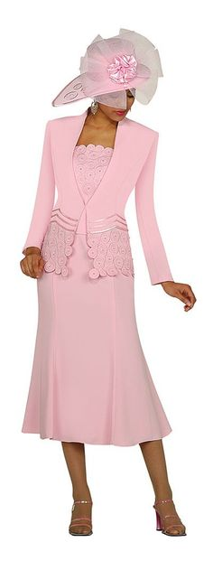 women's church suits and hats | GMI Womens Church Suit G3262 image