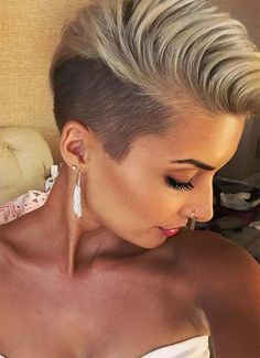 Short Hairstyles for Women: Undercut Pixie #shorthairstyles