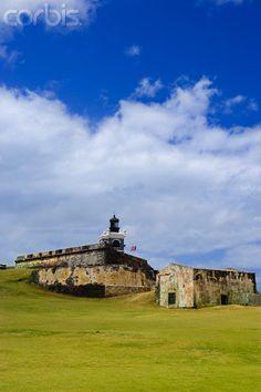 El Morro Fort in Old San Juan, Puerto Rico