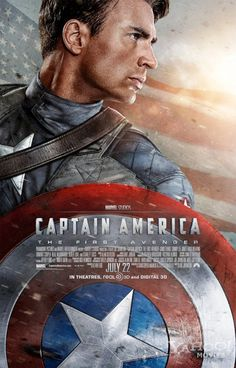 Captain America? Ohh, yes please. ♥