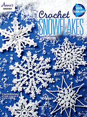 Craftdrawer Crafts: How to crochet a snowflake using a crochet snowfla...