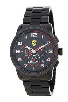 Scuderia Ferrari   Men's Heritage Chronograph Bracelet Watch   Nordstrom Rack