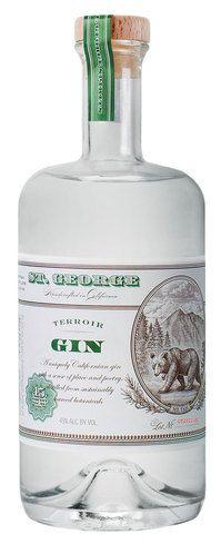 St. George's Terroir Gin - 45% Alameda, CA, USA www.stgeorgespirits.com