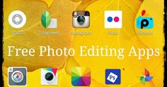 Ads2020-  10 Free Picture Editing Mobile Apps to Harness Beautiful Product Images #advertising