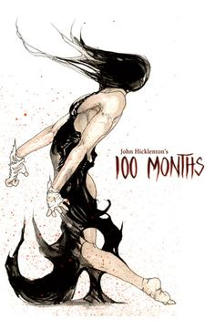 100 Months is a beautifully disturbing and stirring graphic novel composed during the final years of well-known comic book artist John Hicklenton's life.  By use of Hicklenton's brutal style, environmental disaster is explored through the eyes of Mara, the earth goddess, as she rampages her way to a confrontation with her greatest enemy.  It is not a novel for the faint of heart, but its message, accompanied by its illustrations, makes it a compelling choice to read.