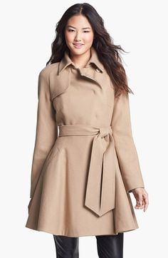 Ted Baker London Safiyah wool coat in camel. Perfect for brown or black boots.