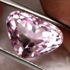 9.91 CTS NATURAL HIMALAYAN PINK KUNZITE (SPODUMENE) [SPK21] pink gemstone