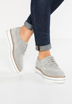 Zign Derbies - grey - ZALANDO.FR