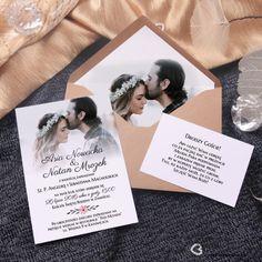 Zaproszenia ślubne z Waszymi zdjęciami Creative Wedding Invitations, Wedding Invitation Cards, Wedding Cards, Boho Wedding, Dream Wedding, Special Events, Fairy Tales, Wedding Inspiration, Place Card Holders