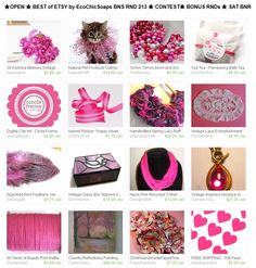 ★OPEN ★ BEST of ETSY by EcoChicSoaps BNS RND 213 ★ CONTEST★ BONUS RNDs ★ SAT BNR  Please join us at:  http://www.etsy.com/treasury/MTI4MzMwMjh8MjcyMjczMjQxOA/open-bns-rnd-213-best-of-etsy-by