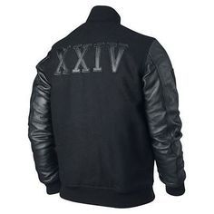 Get the most stylish and fashionable jacket available in our online shop. Michael B Jordan jacket is worn by him in the Creed sport movie. This jacket is craft by wool and leather material and at the back side XXIV patch with leather material. Place your order now and look cool.