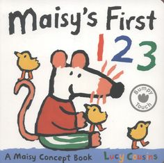 .Lovable Maisy Mouse is counting her favourite animals. Help her count one, two, three, four, five butterflies, tortoises, fizzy fish, swirly snails and one stripy tiger will guide you through your first numbers in this truly delightful Maisy introduction to counting
