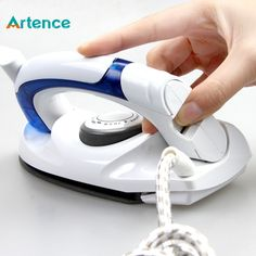 Cheap clothes for a summer hotel, Buy Quality clothes iron hair directly from China clothes bed Suppliers: Mini Portable Foldable Electric Steam Iron For Clothes With 3 Gears Teflon Baseplate Handheld Flatiron For Home Travelling Laundry Appliances, Home Appliances, Mini Iron, Types Of Insulation, Digital Timer, Carpet Installation, How To Iron Clothes, Steam Iron, New Carpet
