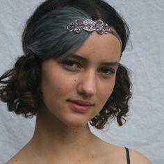 1920s Headpiece 1920s Headband Flapper by GothamCityStyle on Etsy