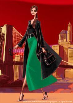 Teas'Tea New York for Vogue Japan 15th Anniversary