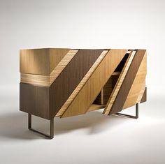 """Slide"" cabinet, design Alessandro Dubini for i4Mariani"