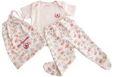Pijama com Sacolinha Feminino Infantil Verão