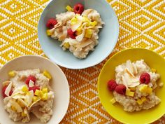 Slow-Cooker Coconut Brown Rice Pudding Recipe : Food Network Kitchen : Food Network