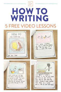 How to writing in 1st grade: a week of lessons! - Susan Jones