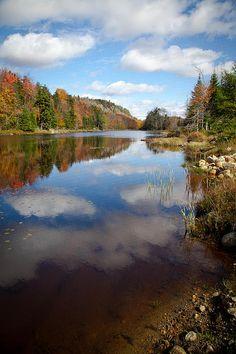 #ADK #Adirondacks - Bald Mountain Pond in the Adirondacks