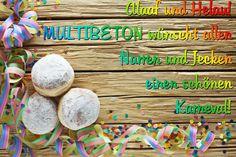 Wir wünschen einen schönen Karneval - Alaaf und Helau!